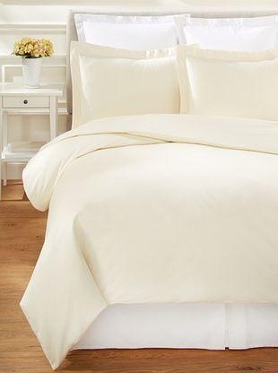 Westport Linens 1200 TC Egyptian Cotton Duvet Cover Set (Ivory)