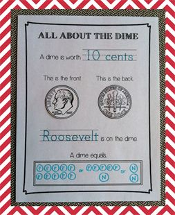 {All About Coins} Presidents' Day Printables