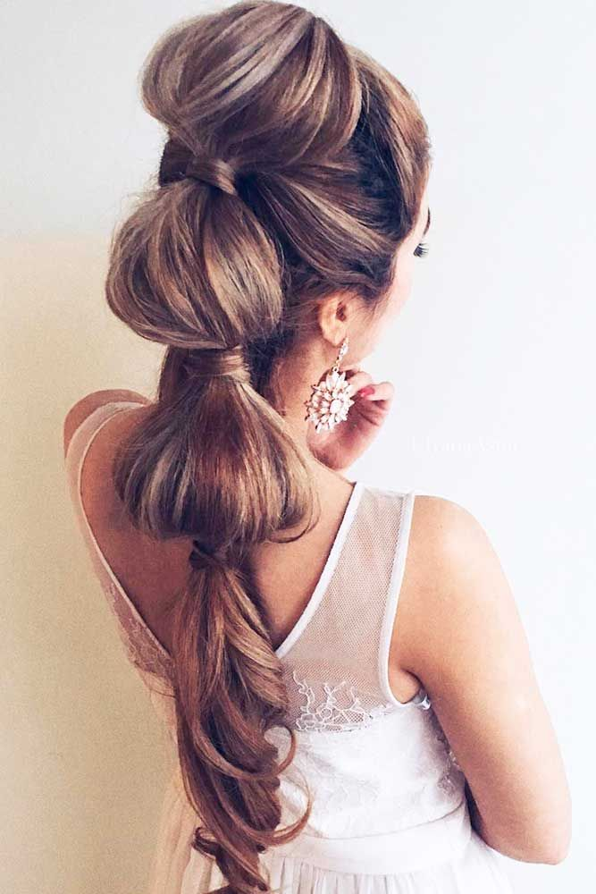 Stylish Easy Wedding Hairstyles ❤ See more: http://www.weddingforward.com/easy-wedding-hairstyles/ #weddings
