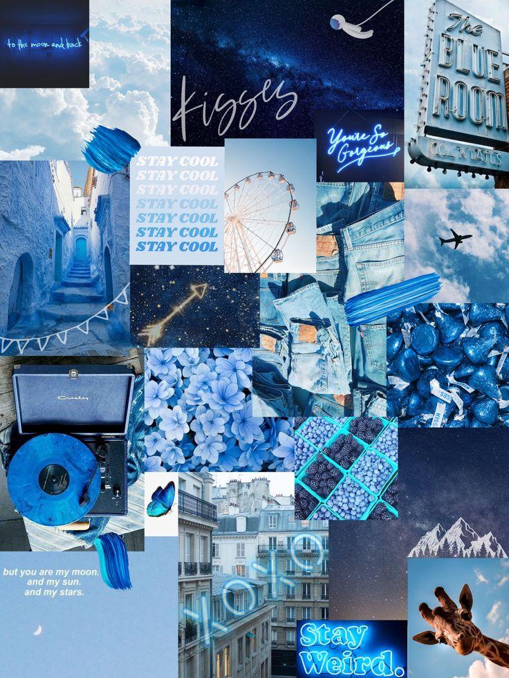 blue aesthetic wallpaper blue aesthetic aesthetic