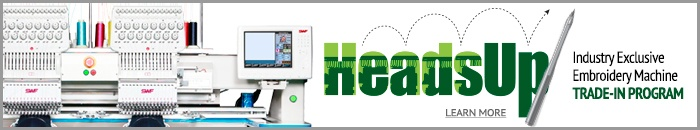 New Heads-Up Embroidery Machine Trade In program from CoDesi! http://www.coldesi.com/headsup-trade-in-program.html