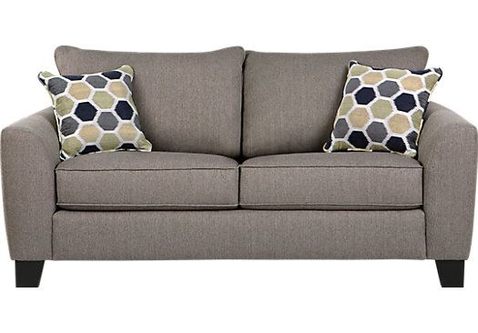 Bonita Springs Gray Sleeper Loveseat . $577.00. 80W x 38D x 39H. Find affordable Sleeper Loveseats for your home that will complement the rest of your furniture.