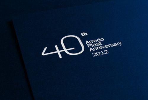 40th anniversary communication. Arredo Plast by Claudia Cupani