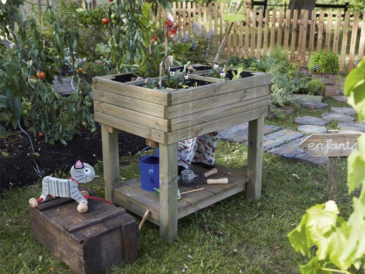 chacun son potager leroy merlin jardin pinterest. Black Bedroom Furniture Sets. Home Design Ideas