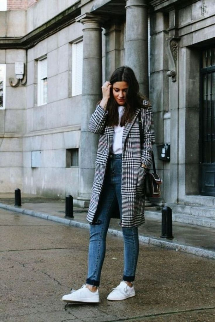 40 Pretty Winter Work Outfits for Women 2019
