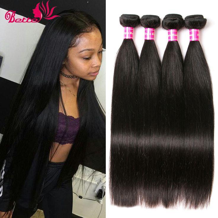 Tissage Bresilienne Cheveux humain cheveux Brésilien 7a Brasil Virgin Rambut Rambut Lurus 4 Pc Lurus Meches Brésilienne banyak