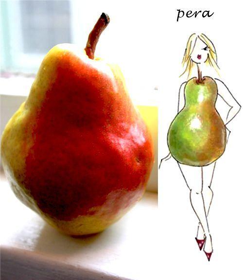 Dieta per il corpo a pera