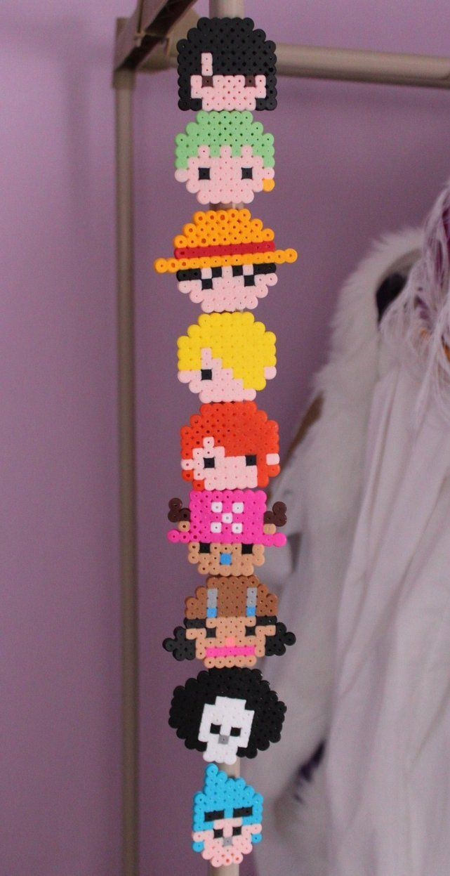 One Piece perler beads