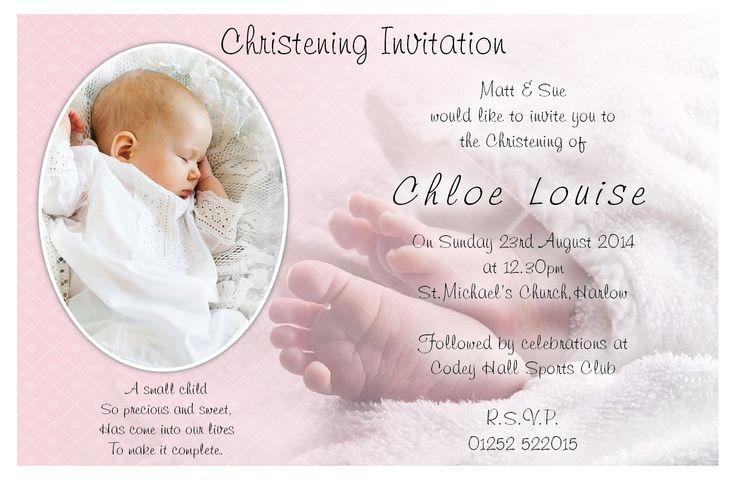 baptism invitation : christening invitation card maker - Superb Invitation - Superb Invitation