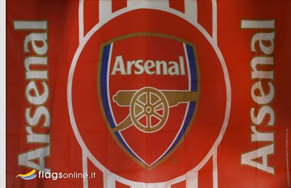 Arsenal Football Club official flag - lippu