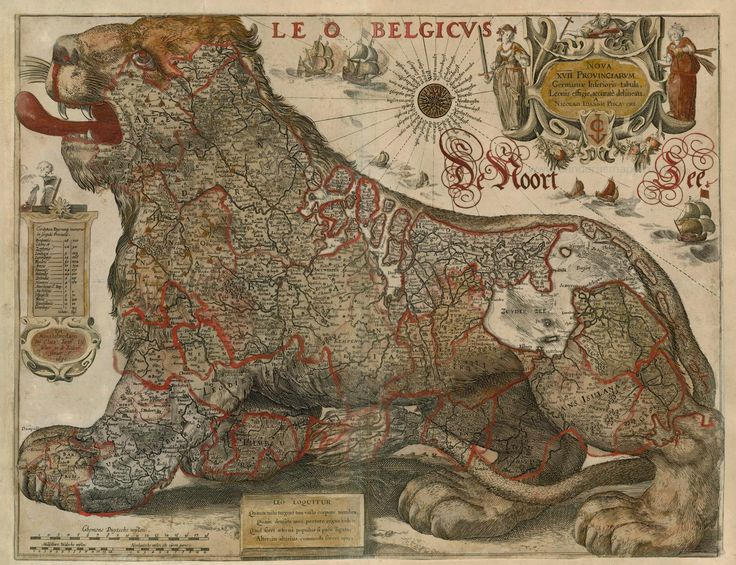 Beautiful Antique Maps