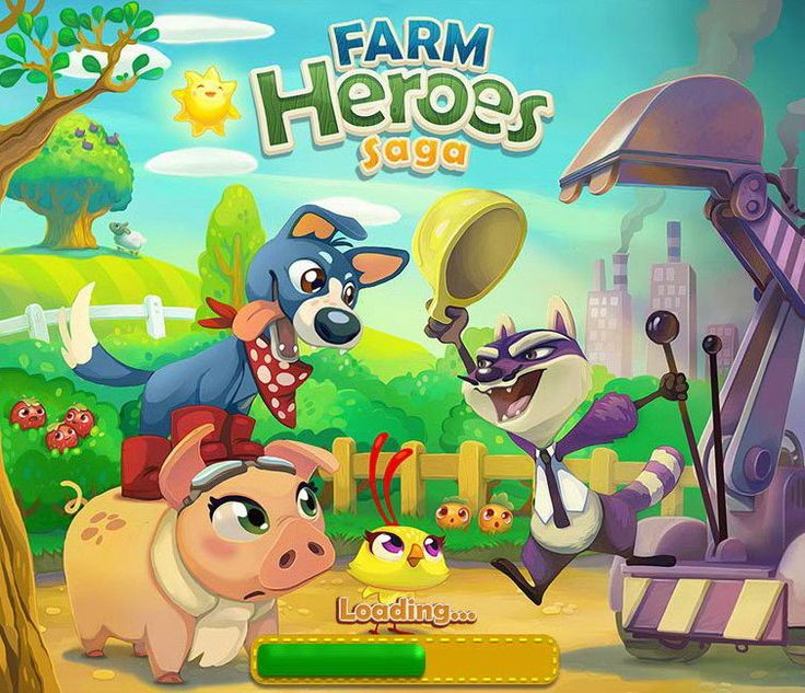 Image result for farm hero saga loading screen