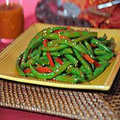 Check out this great recipe from Franks RedHot: Sriracha Green Bean Salad