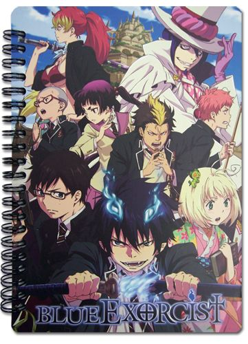 Blue Exorcist Notebook - Cast @Archonia_US