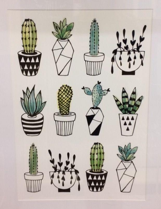 @ callie elizabeth donley | Cactus drawing, Succulents ...