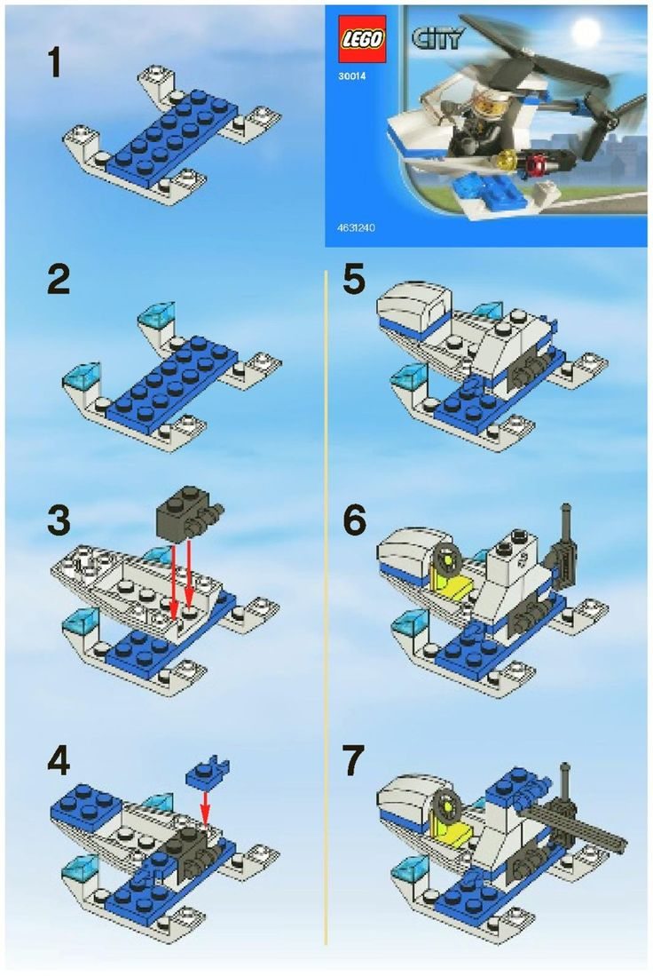 LEGO Mini Build Instructions 30014 | LEGO Set Instructions for LEGO / SYSTEM / Town / City | The Plastic ...