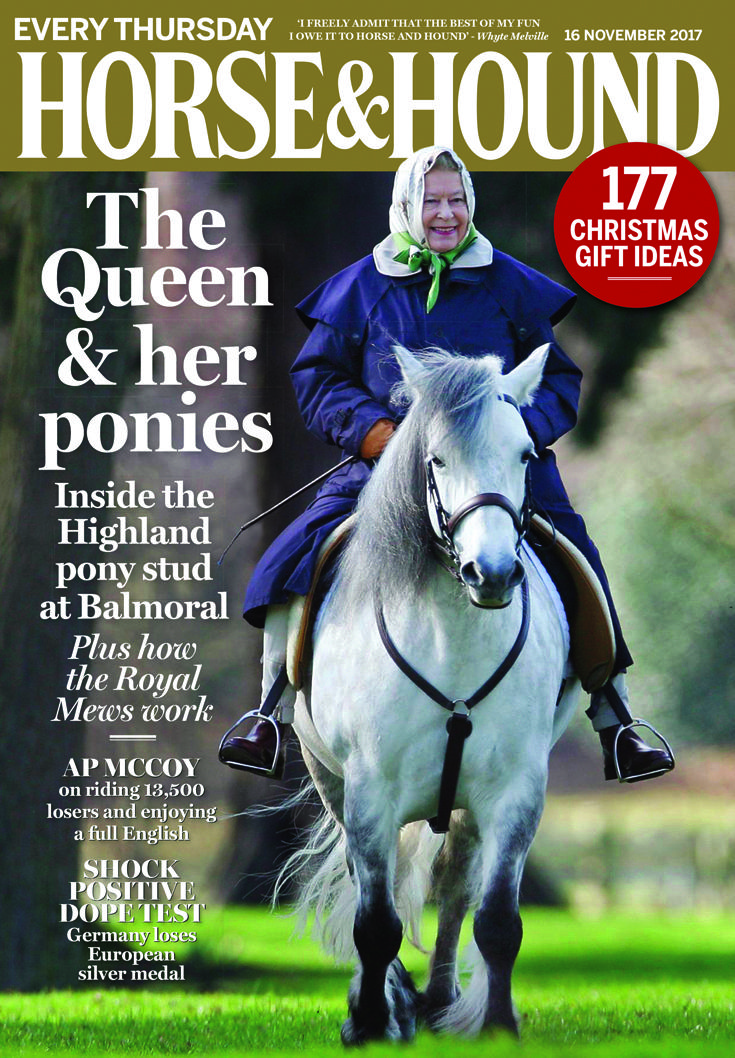 We have a very special front cover picture this week! Check out the 16 November issue of Horse & Hound — on sale now.