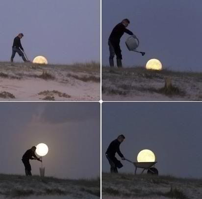 Harvesting the Moon