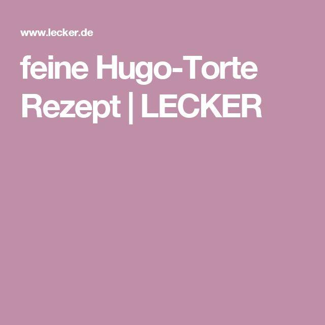 feine Hugo-Torte Rezept | LECKER