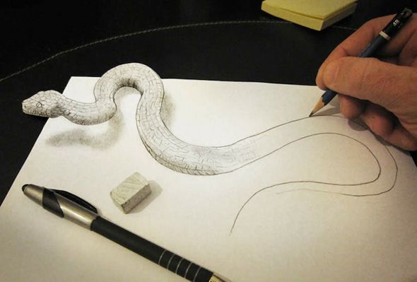 """YES. This is an idea of what I want to do. I cut the paper to """"fit"""" or be the shape of the drawing. I reaaaaalllllyyyyyyy wanna know how to do this."""