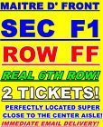 #Ticket  2 TICKETS PIFF THE MAGIC DRAGON 3/25 FOX THEATER FOXWOODS CT FRONT SEC F1 ROW FF #Canada