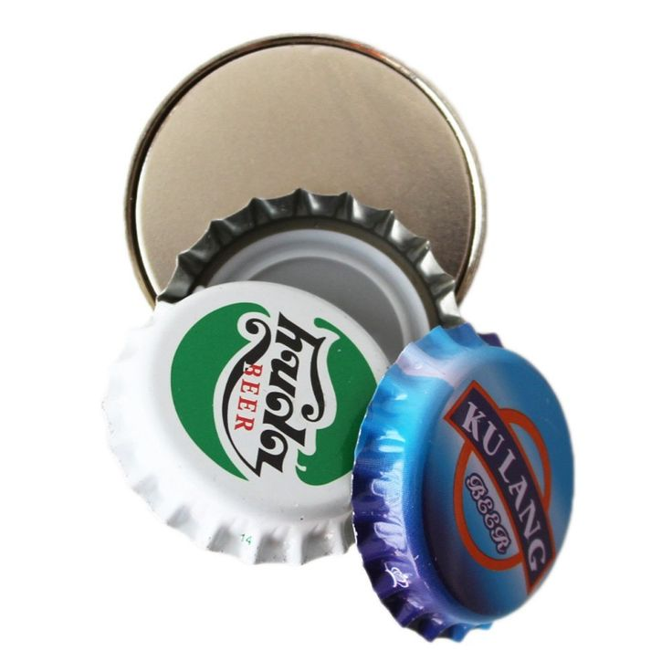 Hems Round Magnetic Bottle Cap Catcher for Wall Mount Bottle Opener * Startling review available here  : home diy kitchen
