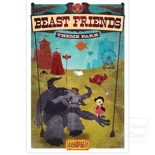 Beast Friends Print