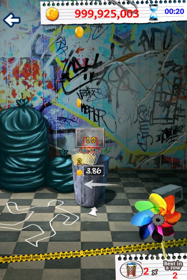 Basketball Paper Flick Pro is an addictive game designed for basketball fans, office junkies, and those with a few spare minutes for some addicting to kill some time, which it offers single player or multiplayer options, as well as many cool game modes where you can show off your paper tossing skills! You can choose to play online with people around the world, or play live games with your friends and earn MP's which can be used towards in-app features.Download: www.mobilegamesbox.com