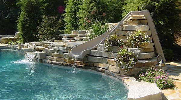 Swimming Pools With Slide
