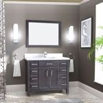 Studio Bathe - Calais 42 in. French Grey Vanity with Mirror