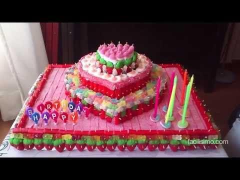 ▶ Cómo hacer una tarta de chuches | facilisimo.com - YouTube