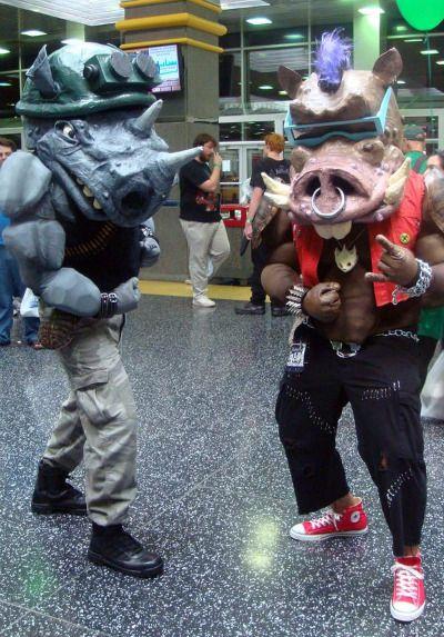 OMIODDIO! Che costumi... awesome!!! #ninja  #turtles