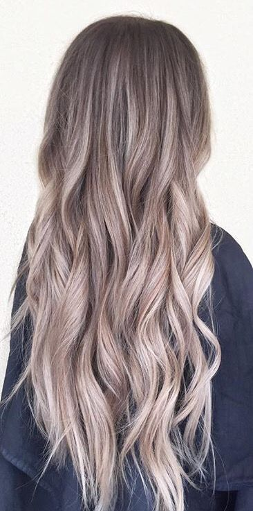 Cool blonde ombré