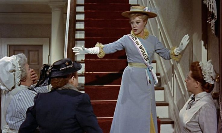 """""""Though we adore men individually, we agree that as a group they're rather stupid."""" – Winifred Banks, Mary Poppins"""