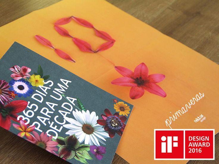 Para comemorar seus 10 anos, a Néktar Design desenvolveu uma contagem regressiva utilizando pétalas de flores. A cada dia, durante 1 ano, foi publicado um post no bloghttp://365diasparaumadecada.tumblr.com/contendo o número de dias faltantes para o aniversário junto com a flor da qual as pétalas foram retiradas e uma palavra. FICHA TÉCNICA Destacar profissionais que atuaram …