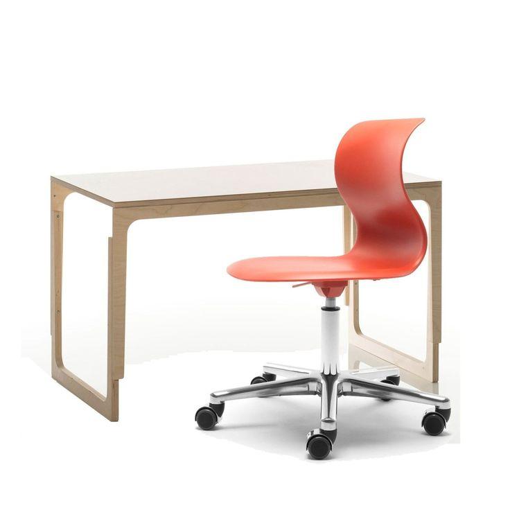 Ganz Neu Ist Dieses Set: Sirch Schreibtisch Vaclav Birke Mit Flötotto Pro 4  Drehstuhl.