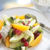 (2 pp) Fruktsallad med keso
