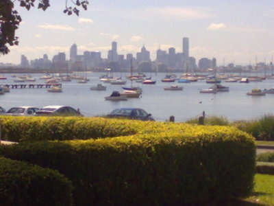 williamstown - view from near end of our road
