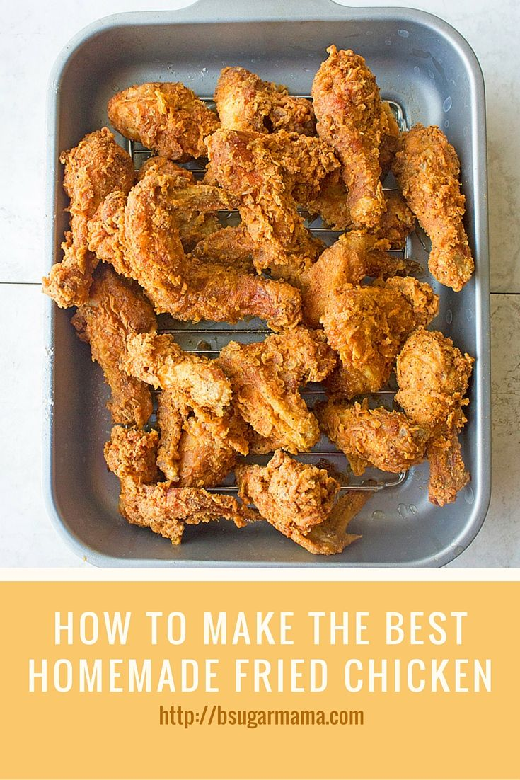 Check out this recipe to learn how to make some of the best Homemade Fried Chicken!
