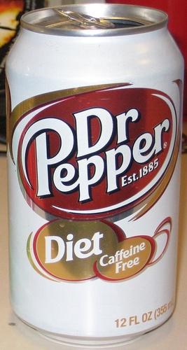 Dr. Pepper Diet Caffeine Free -