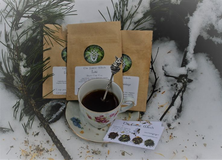 Wiccan Tea, devoted to Loki the Norse God. Ideal for spellwork with closing a chapter, or ending one.