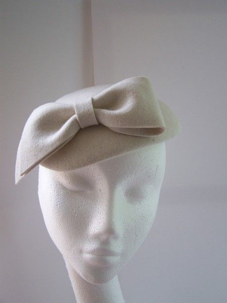 Vintage Wedding Hat by KAREN GERAGHTY #HatAcademy #millinery