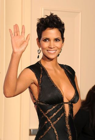 Halle Berry iconic. classic. #celebrateSparkle and natural beauty