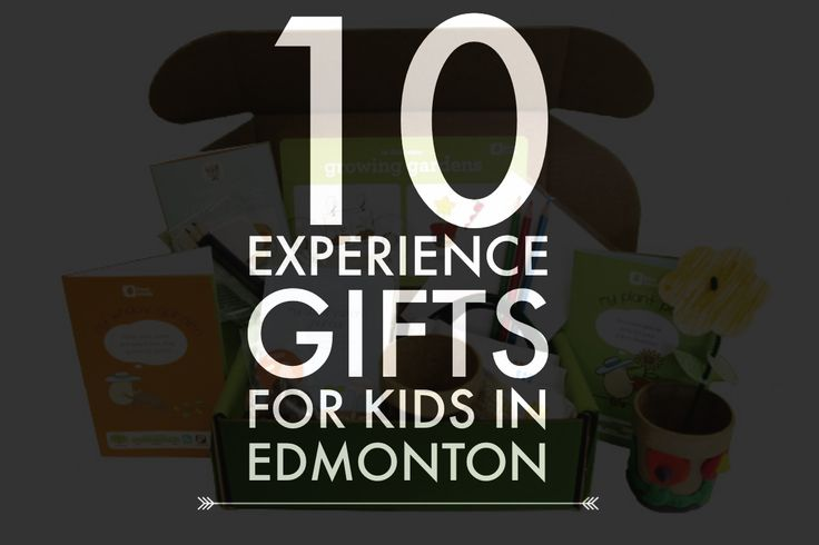 10 'Experience Gifts' for Kids in Edmonton when you're looking for a way to reduce the toy clutter this holiday season. #yeg #frugaledmontonmama