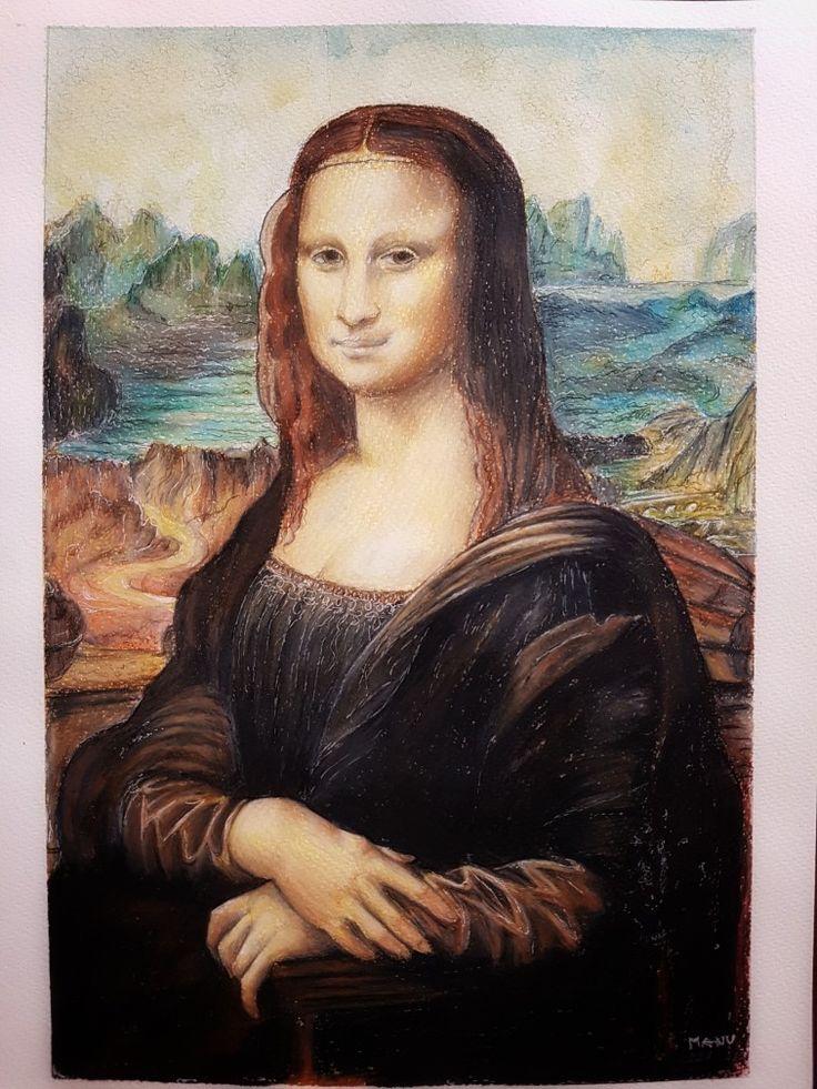 #monalisa #monnalisa #draw  #gioconda Pensil drawing