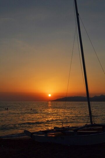 Sunset. Licata,Sicily