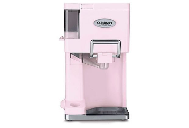 A pink soft serve ice cream maker!? yes please!Soft Serve, Ice Cream Maker, Ice 45, 1 1 2 Quarts, Soft Servings, Cuisinart, Softserve, Icecream, Servings Ice