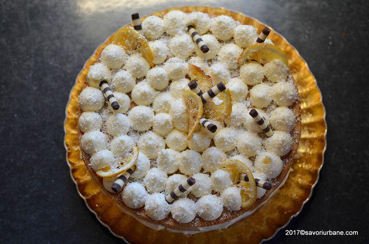 cel mai bun tort cu lamaie mascarpone si zmeura