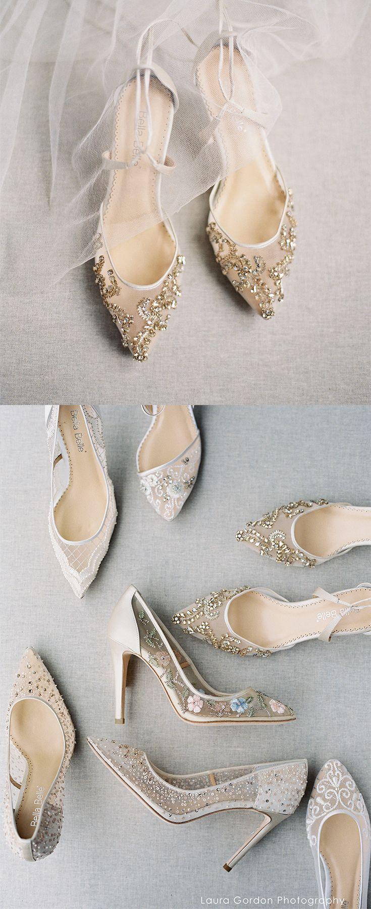 Bella Belle Euphoria Wedding Shoe Collection Features A Sparkly
