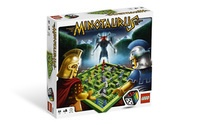 Lego Minotaurus game.  My 9-year-old son and I love it!